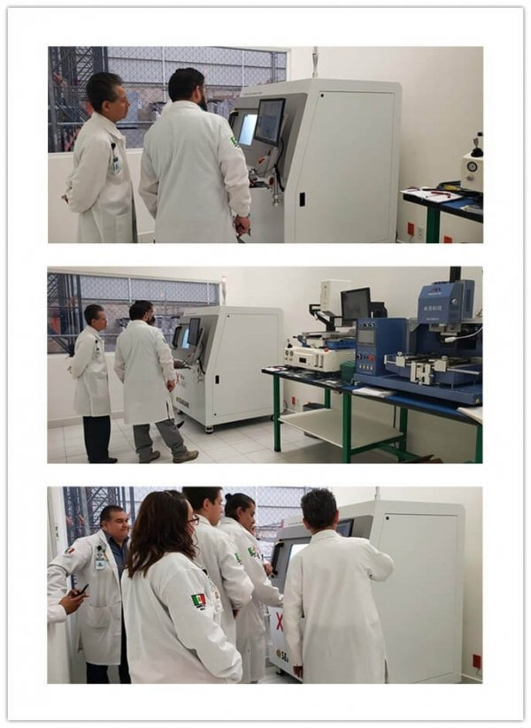 TSI Mexico use Seamark x ray machine