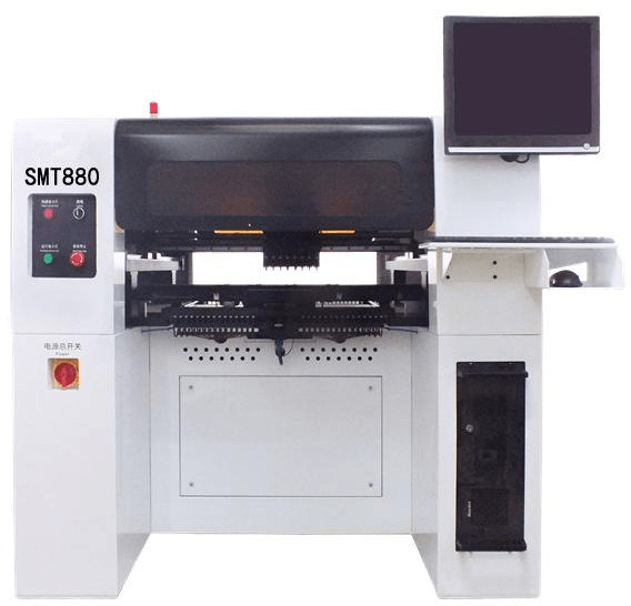Pick and place machine Chip Mounter Full autoamtic 8 Head smt880 pick and plance machine 2